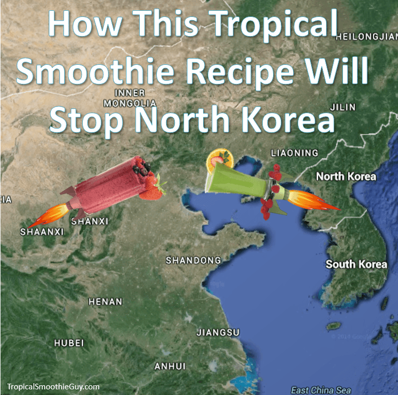This Tropical Smoothie Recipe Will Stop North Korea-Instagram