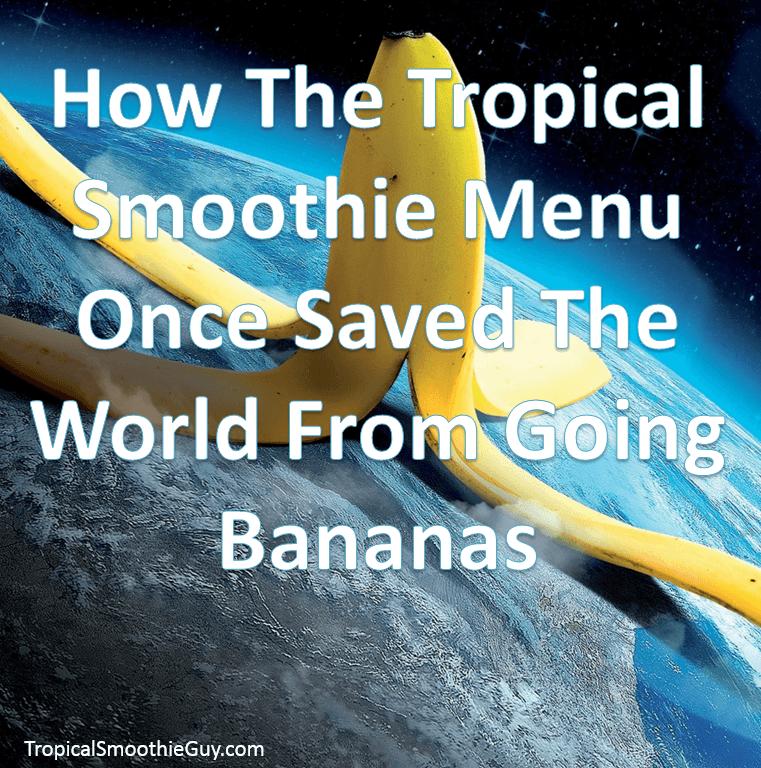 Tropical Smoothie Menu-Instagram