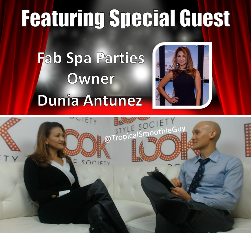 Lance's Interview With Dunia Antunez