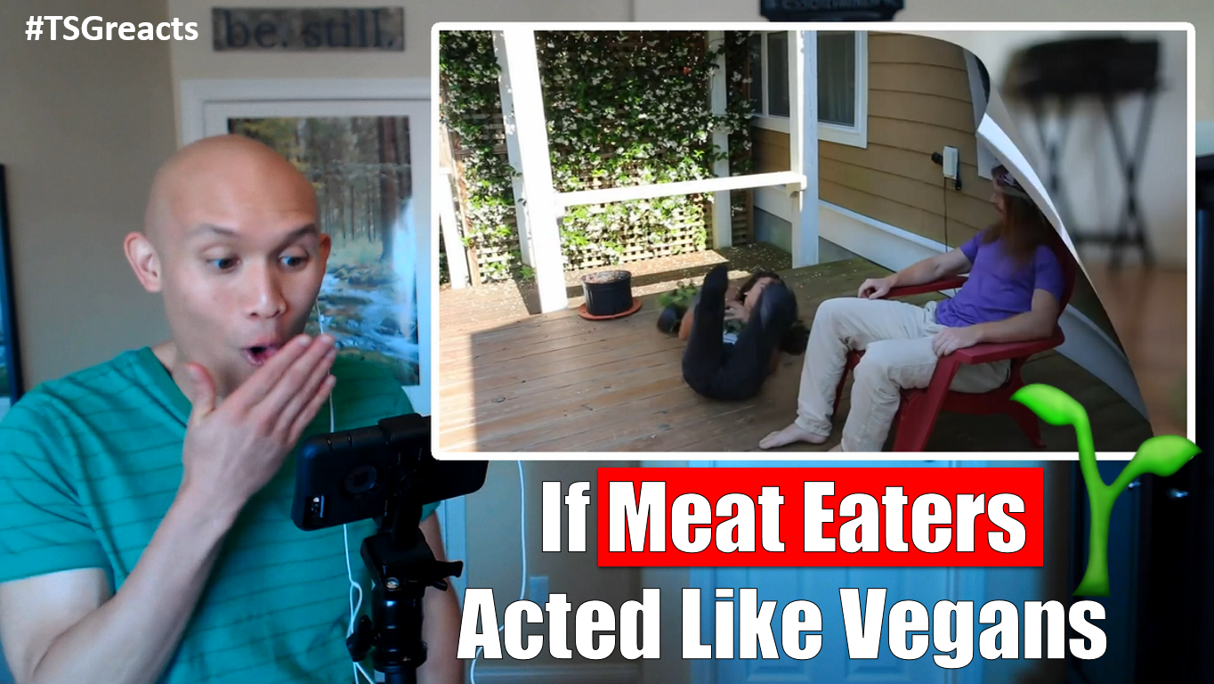 If meat eaters acted like vegans
