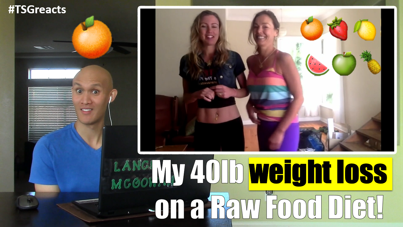 My 40lb weight loss on a Raw Food Diet! Before & After ...