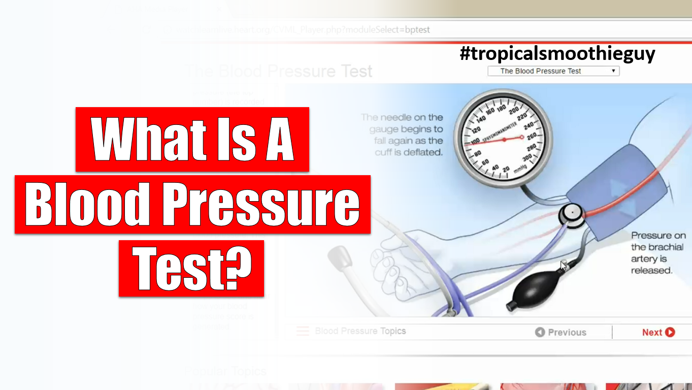 what is a blood pressure test