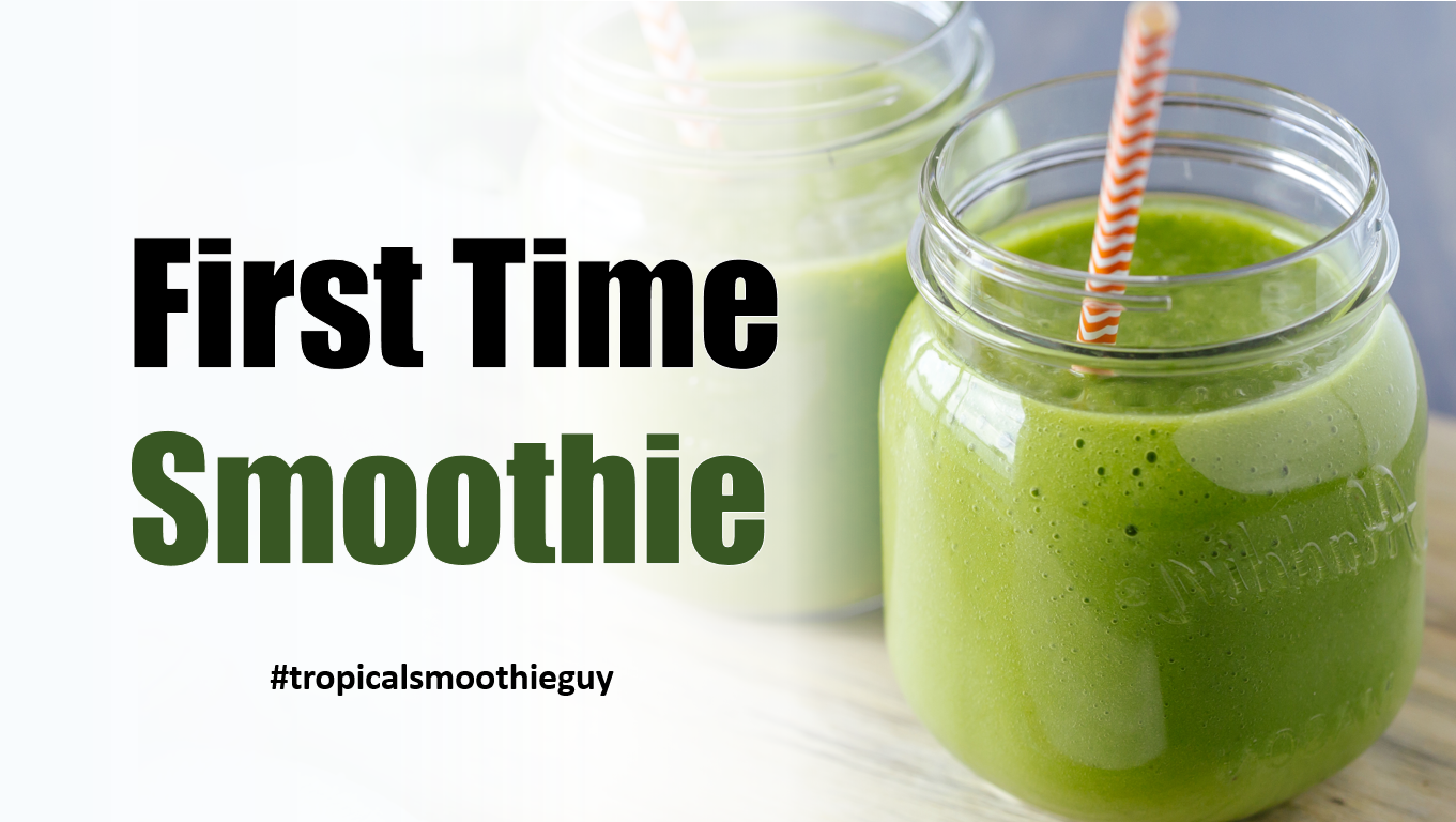 9 first time smoothies